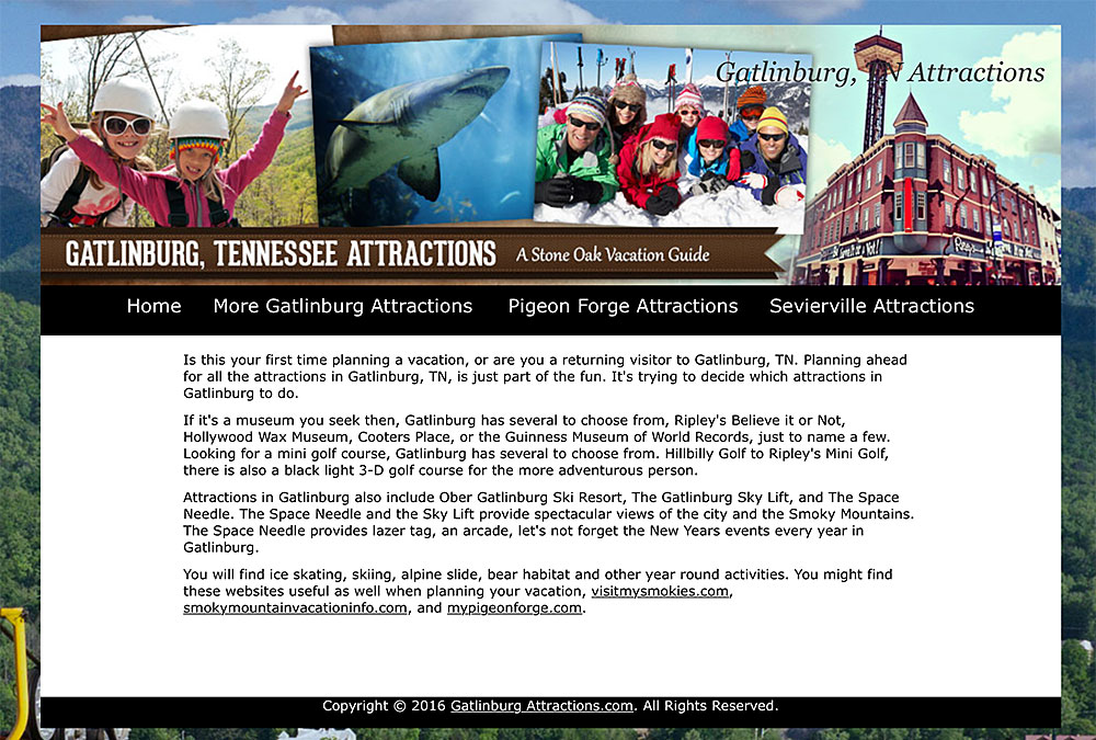 Gatlinburg Tennessee Attractions